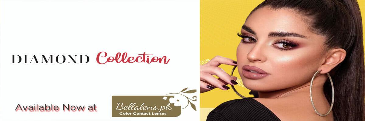 Buy Bella Diamond Collection Contact lenses in Pakistan @ Bellalens.pk