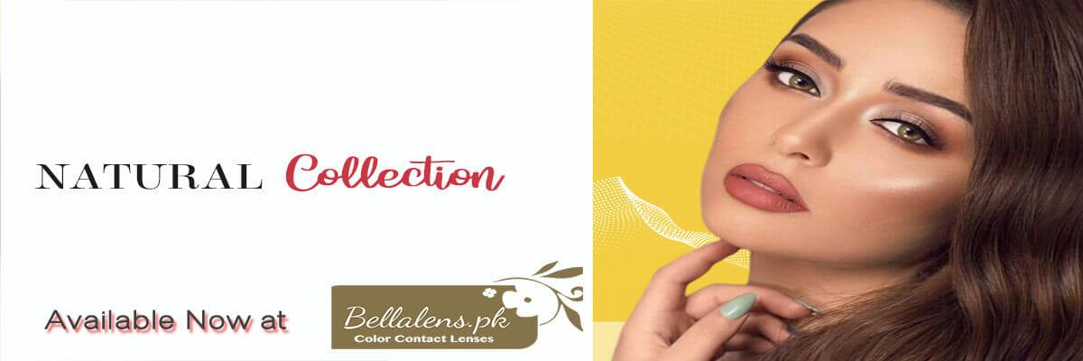 Buy Bella Natural Collection Contact lenses in Pakistan @ Bellalens.pk